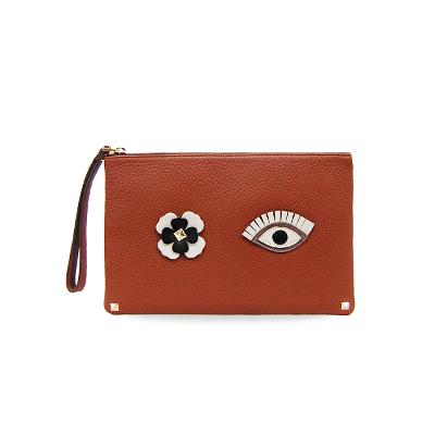 wink clutch brown